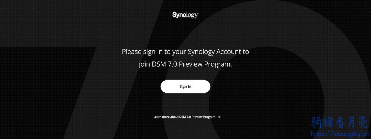群晖 Synology DSM 7.0 测试版已正式发布 附下载地址